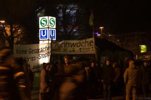 2011-02-09 Mahnwache gegen S21, HBF Stuttgart