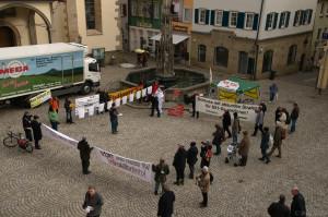 2013-02-18 Kundgebung vor Haftantritt eines S21-Gegners, Rottenburg