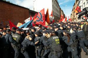 2013-10-03 Demo anlässlich Tag der dt. Einheit, Stuttgart